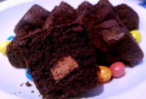mini cake chocolat- praliné