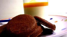 sablés chocolat & panacotta