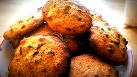 cookies pépites de chocolat pécan