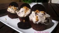 Photo Cupcake Oreo La Popote de Raphie