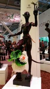 Sculpture de chocolat gagnante