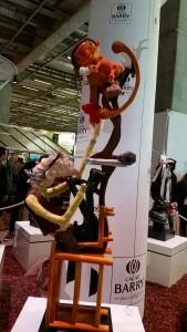 Pinocchio en chocolat