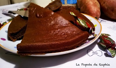 Gateau papate douce