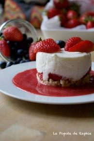 Cheesecake fraises 3