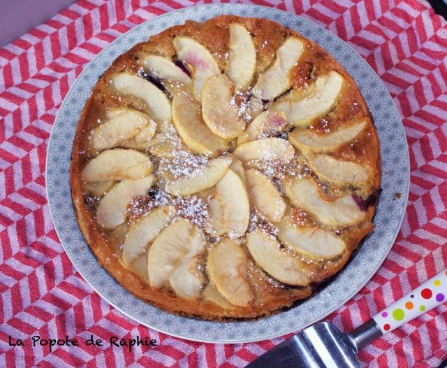 Gateau pommes myrtilles 2