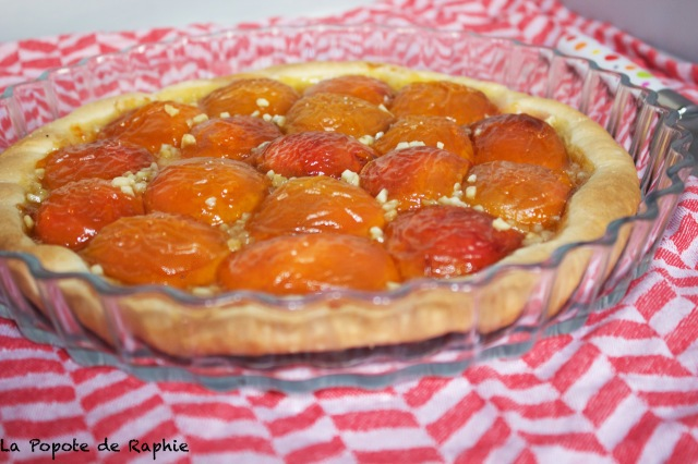 Tarte abricots 1