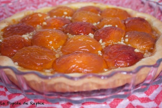 Tarte abricots 2