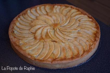 Tarte pommes CAP 2