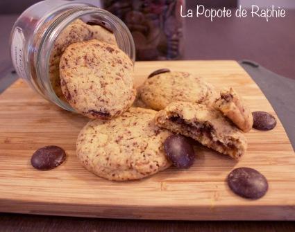 Cookies coeur chocolat 1