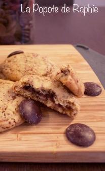 Cookies coeur chocolat 2