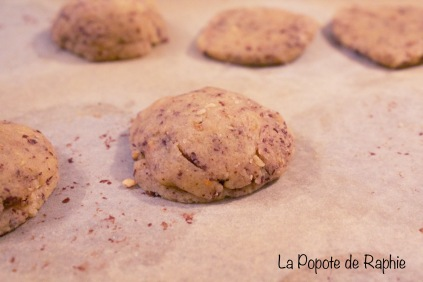 Façonnage cookies 3