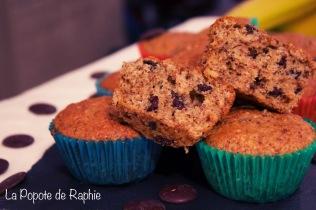 Muffin Choco-banae 3