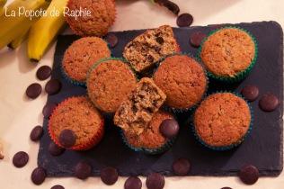 Muffin choco-banane1