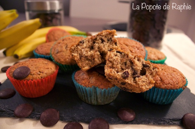 Muffin Chocolat - Banane