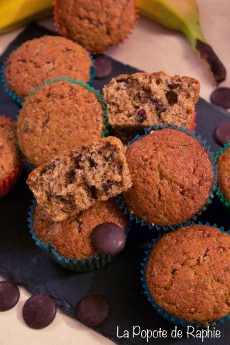 Muffin chocolat-banane1