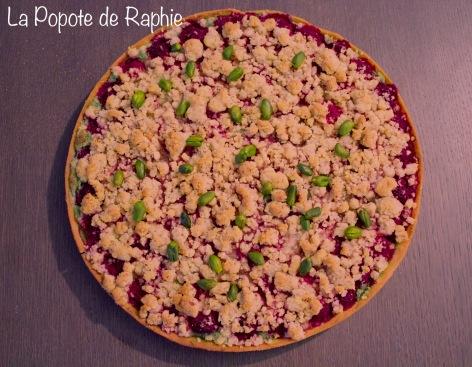 Tarte framboise pistache crumble3
